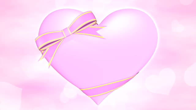 Heart opening 2 pattern bright background video