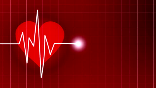 Heart Rate Monitor Animation video