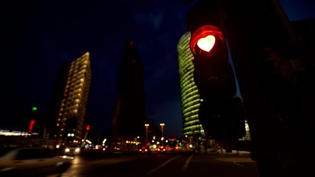 Heart Shaped Traffic Light Berlin video