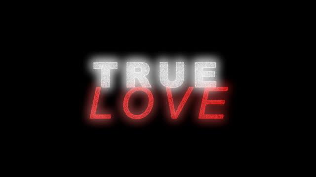 prawdziwa miłość serca - zachodnie pismo filmów i materiałów b-roll