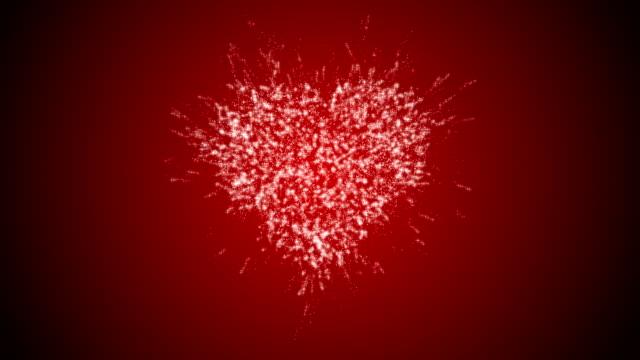 hjärtat valentines' dag koncept - puls bildbanksvideor och videomaterial från bakom kulisserna