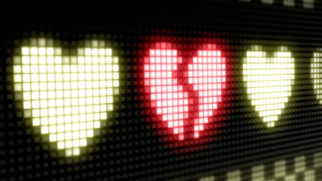 cuore - divorce video stock e b–roll