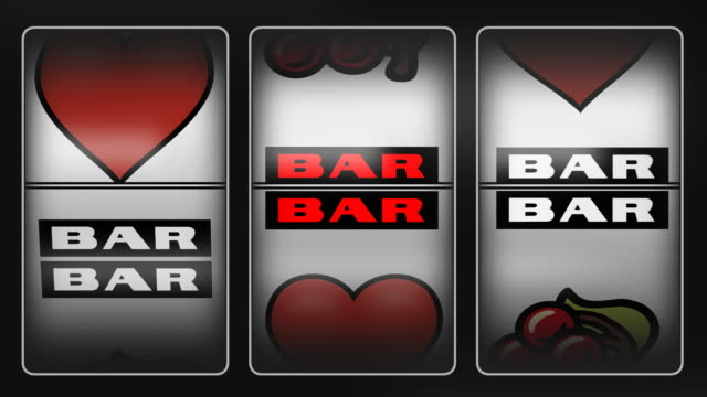 Heart Winner Slot Machine After two loosing spins on a Slot Machine, you finally Win with three Hears.  cherry stock videos & royalty-free footage