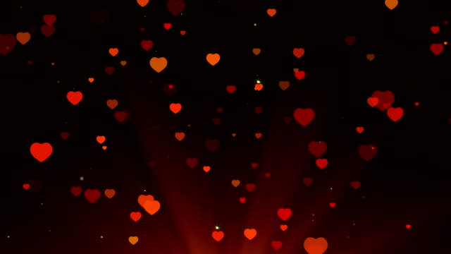 vidéos et rushes de fond du cœur. amour et mariage. animation en boucle. - symbole