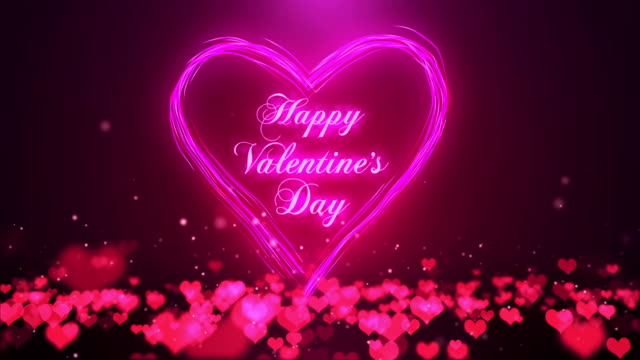 Royalty Free Valentines Day Background HD Video, 4K Stock Footage ...