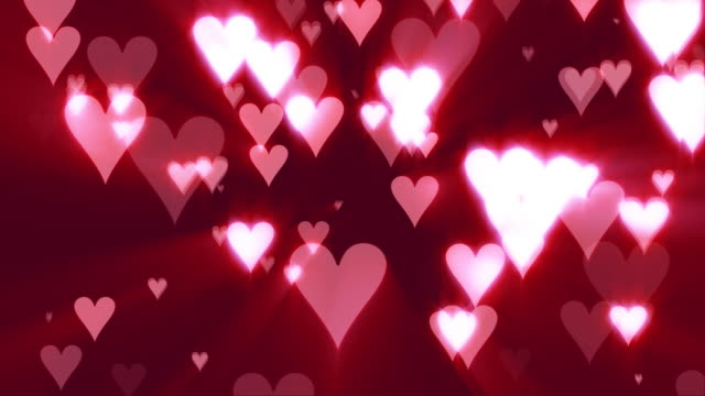 Hearts of Love (Pink Background) video