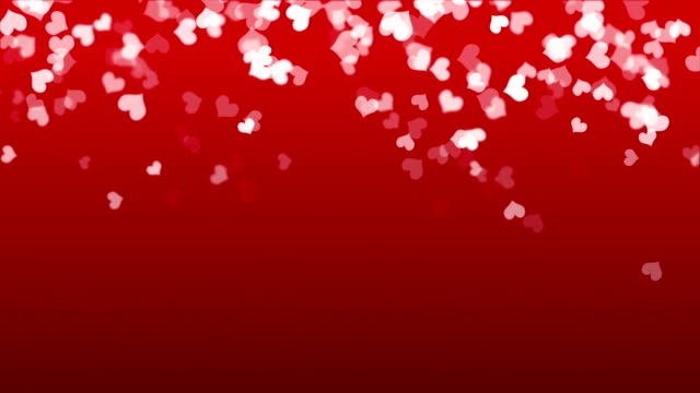 Hearts - valentine's concept (loop) video