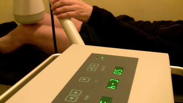 Heat lamp therapy video
