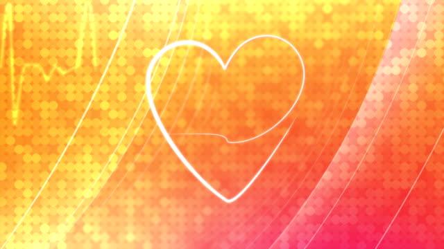 Heath & EKG-Background video
