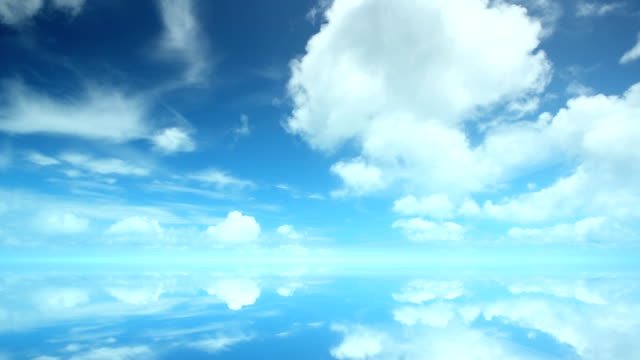Heaven. Time lapse. Seamless loop