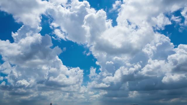 heavenly bed (ヘブンリーベッド)での pan shot 雲 - 層積雲点の映像素材/bロール