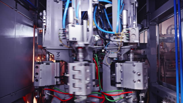 Heavily Engineered Machinery in Operation at a Factory Africa, Automation, Industries - Computer Aided Highly Automated Machinery in Operation at a Factory computer aided manufacturing stock videos & royalty-free footage