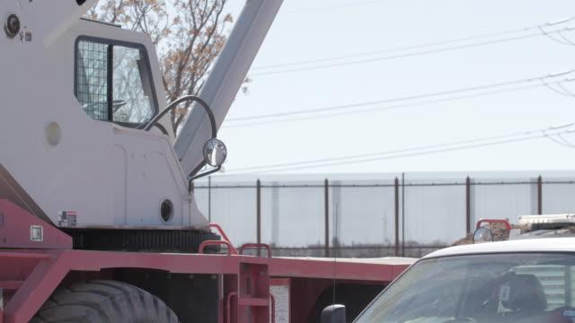 Heavy Equipment Near Border video