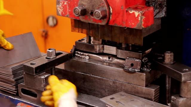 Heavy industry - machine Manual Worker video