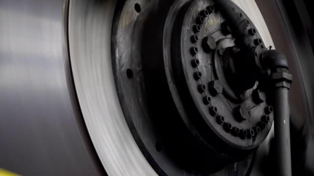 heavy industry - rotor press video
