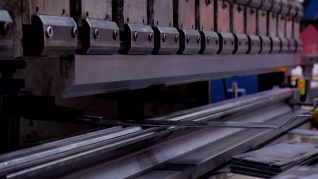 Heavy industry - Sheet Metal bending video