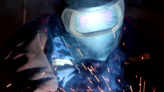 Heavy industry - welding video
