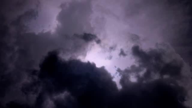 強閃電風暴 - lightning 個影片檔及 b 捲影像