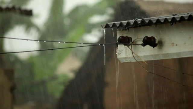 Heavy Rainstorm on a Tin Roof: Ghana video