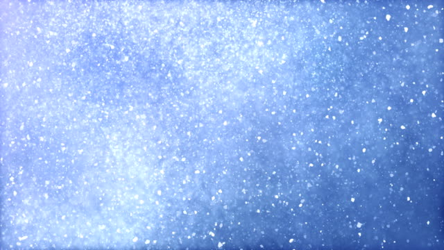 heavy snow / snow storm / blizzard (light blue) with luma/alpha matte to separate foreground - loop - snowflake background stock videos & royalty-free footage