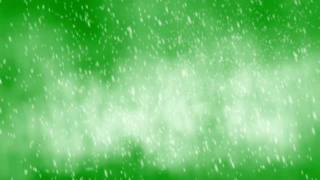 vidéos et rushes de grosse tempête de neige-écran vert - blizzard