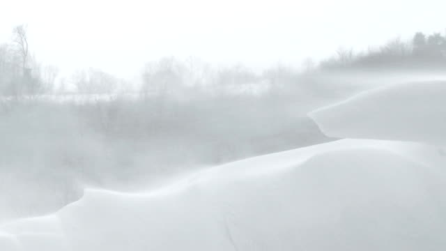 heavy snowstorm video