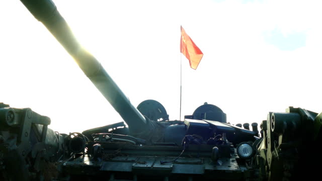 heavy tank under the flag of the former Soviet Union