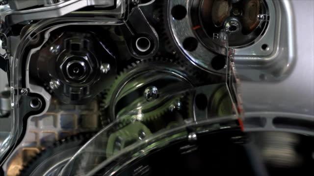heavy truck engine gears heavy truck engine gears crank mechanism stock videos & royalty-free footage