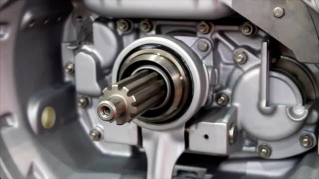 heavy truck transmission detail heavy truck transmission detail crank mechanism stock videos & royalty-free footage