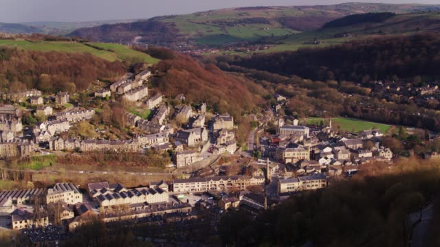 Hebden Bridge - Drone Shot video