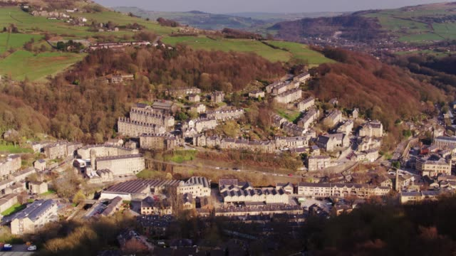 Hebden Bridge, Yorkshire - Drone Shot video