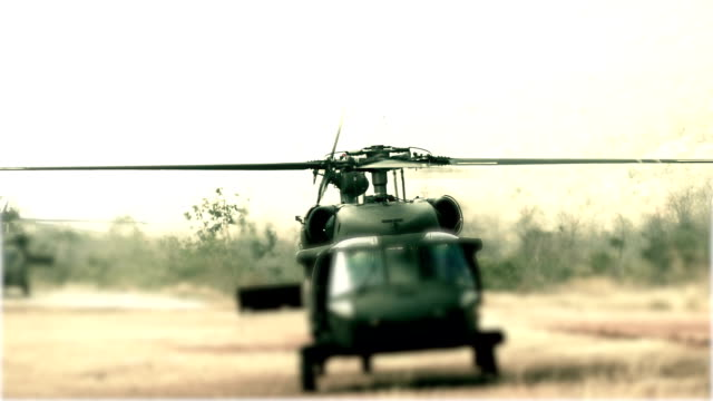 Helicopter Black Hawk down