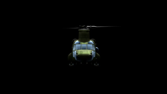 Helicopter Сh-47 Сhinook (matte) video