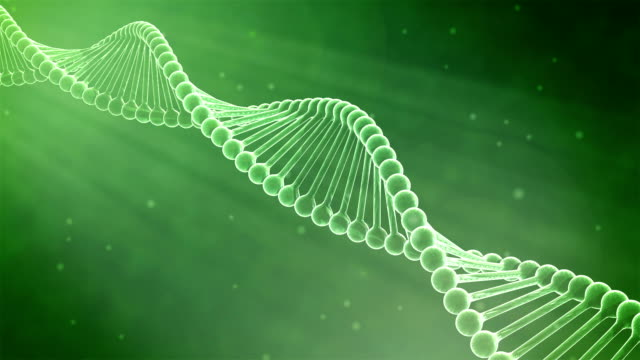 HD : 3D DNA Helix Animation, Loop-able. video