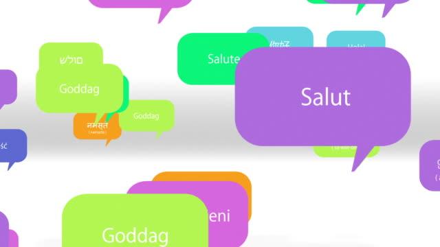 ハロー多くの言語 ビデオ