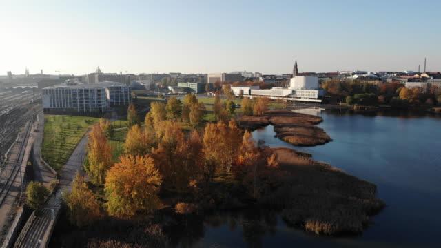 helsingfors finland - drone helsinki bildbanksvideor och videomaterial från bakom kulisserna
