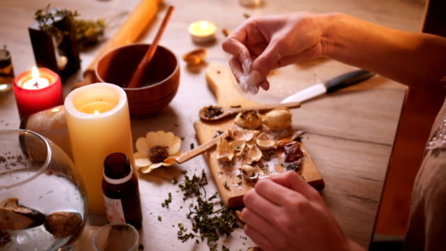 herbal medicine - alternative medicine stock videos and b-roll footage