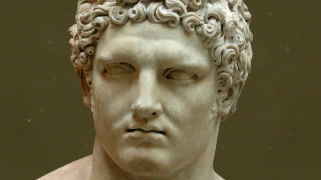 Hercules Head and Face Sculpture video
