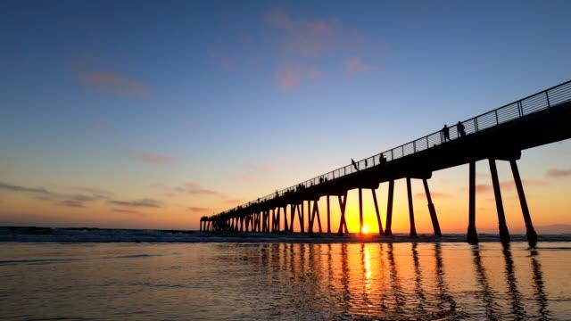 Hermosa Beach Pier Southern California