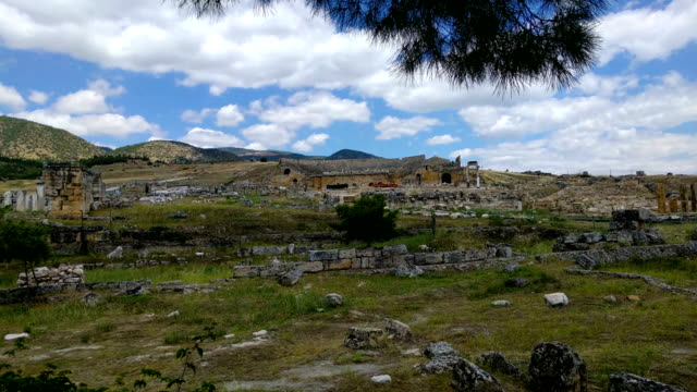 Heropolis near Pamukkale video