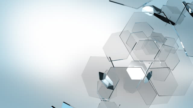 Hex background HD video