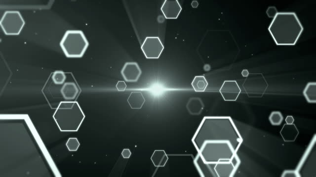 Hexagon Background Loopable video