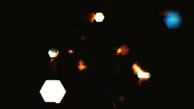 Hexagon of Dark Particles Loopable Loop backgorund shape fairy stock videos & royalty-free footage