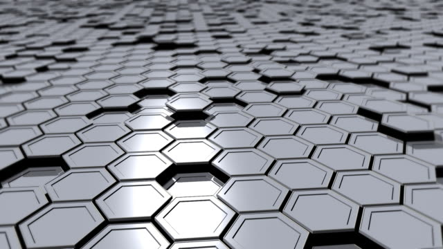 Hexagons (loopable) video
