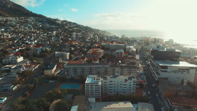 High above Cape Town video