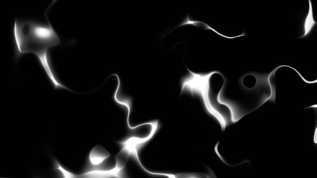 High Contrast Liquid Fractal Looping Background video