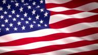 istock High Detail USA American Flag Seamless Loop 1126410503
