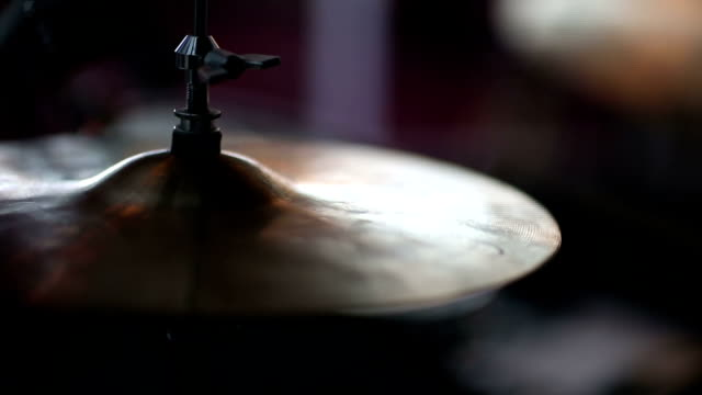 High Hat Cymbal at a Musical Rock style show video