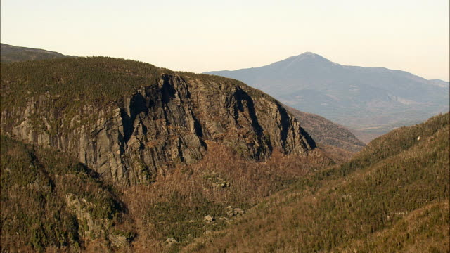 High Peaks In the Adirondacks - Aerial View - New York,  Essex County,  United States video