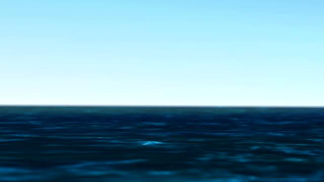 vídeos y material grabado en eventos de stock de resolución alta calidad de animación 4k de colocación cinemagraph. fondo abstracto natural, enfoque selectivo a la ola en el océano lenta. - escafandra autónoma
